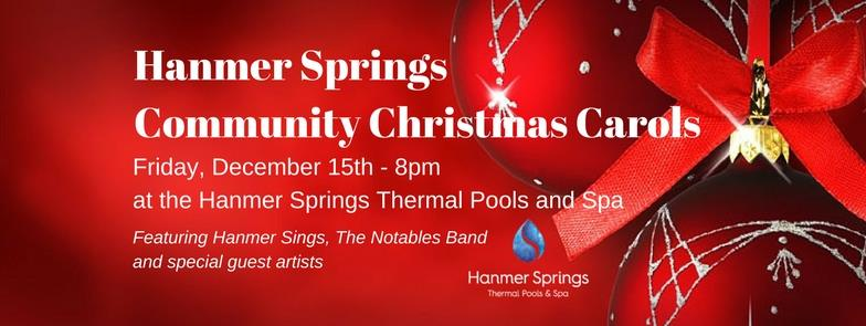 HANMER SPRINGS COMMUNITY XMAS CAROLS