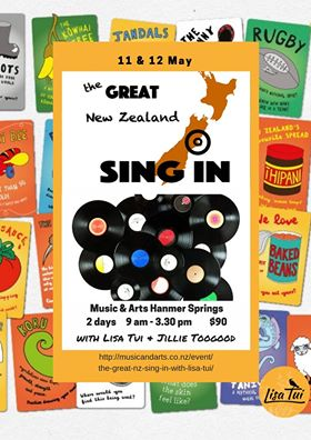 GREAT NZ SING IN